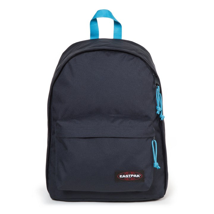 Sac à dos out office Eastpak navy aqua face