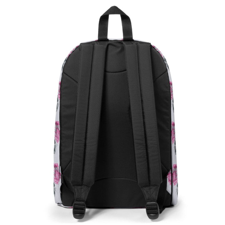 Sac à dos out office Eastpak Urban Pink DOS