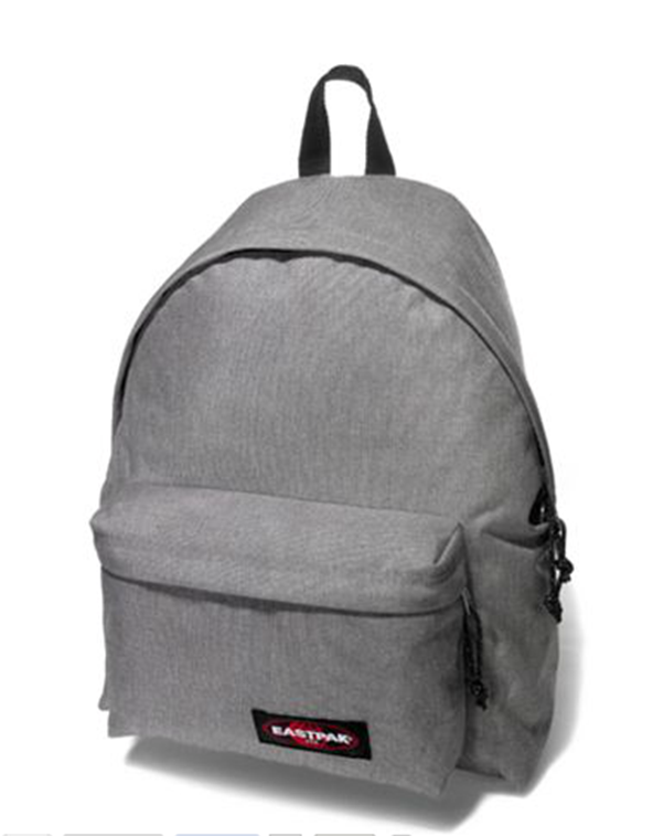 Sac à dos EASTPAK PADDED PAK'R Sunday grey face  Grey