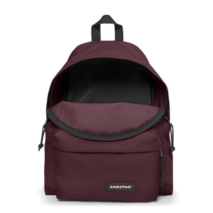 Sac à dos EASTPAK PADDED PAK'R Punch Wine OUVERT