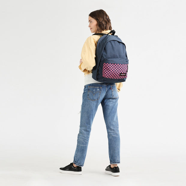 Sac à dos Eastpak Out Of Office Pink Weave DOS