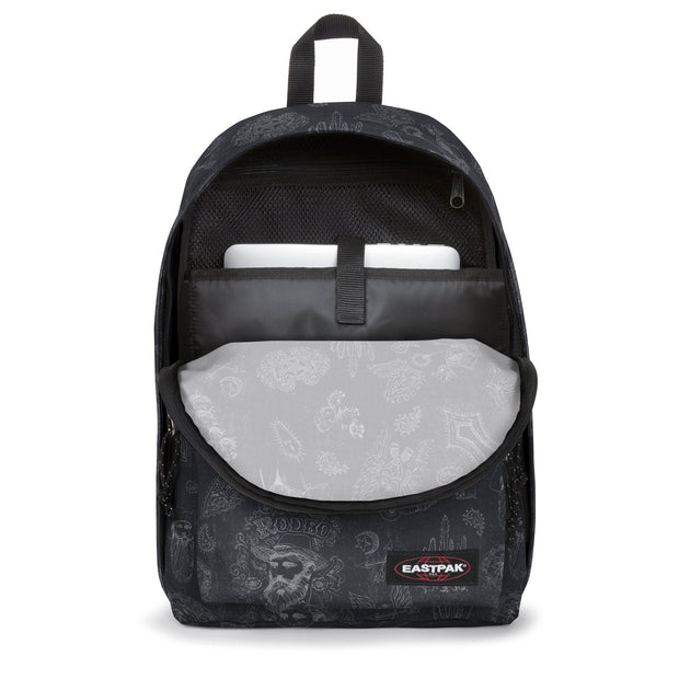 Sac à dos Eastpak Out Of Office West Black ouvert