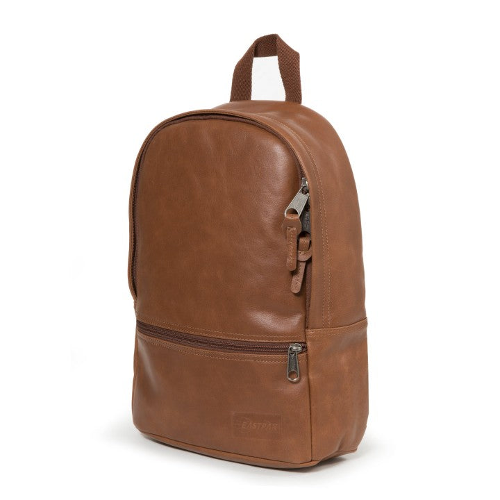 Sac à dos EASTPAK DEE BROWNIE LEATHER côté