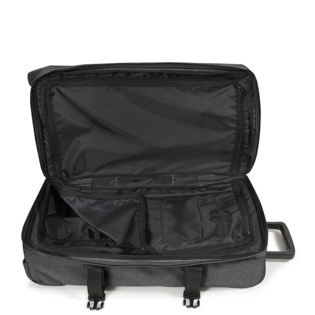 Sac de voyage trolley EASTPAK TRANVERZ M Black denim INTERIEUR