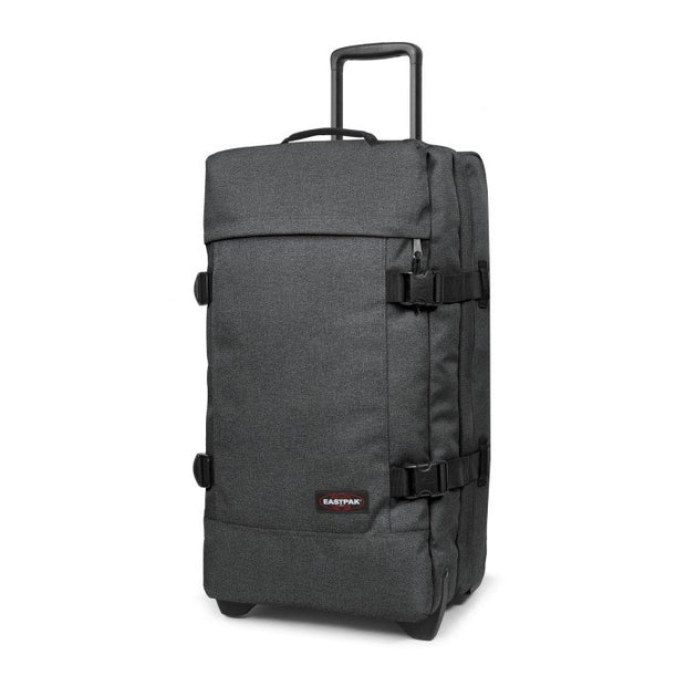 Sac de voyage trolley EASTPAK TRANVERZ M Black denim COTE