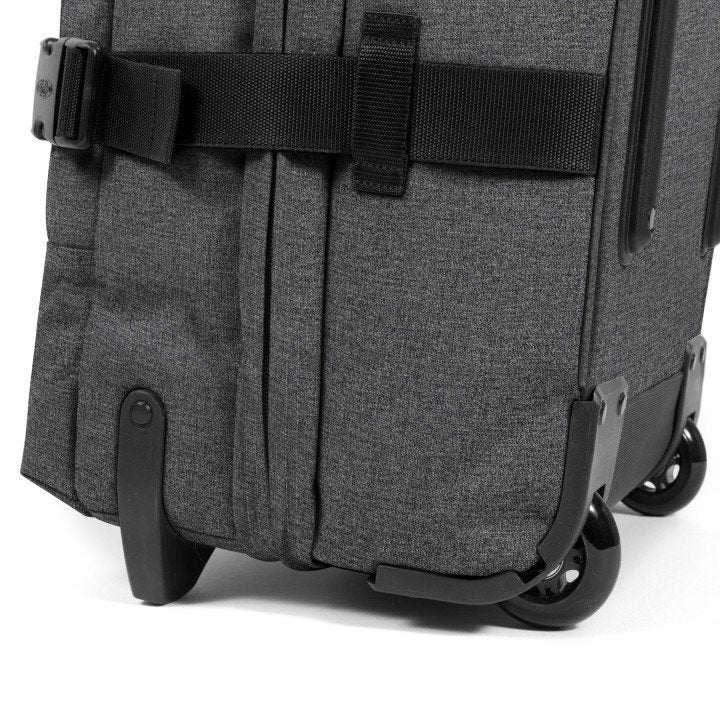 Sac EASTPAK Tranverz L TSA Black Denim roues