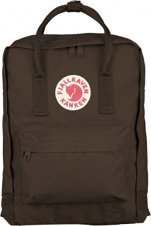 Sac à dos FJALLRAVEN Kanken Brown face