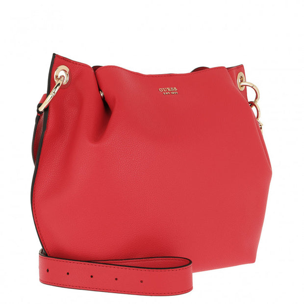 Sac à main GUESS DIGITAL ROUGE COTE