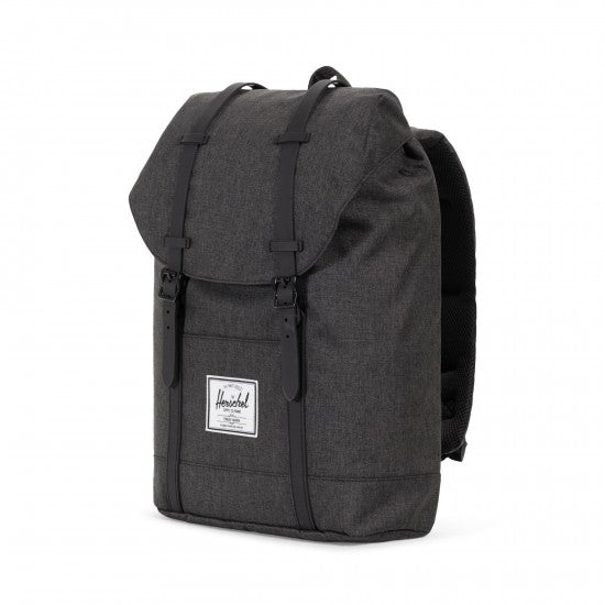 Sac à dos HERSCHEL MID-VOLUME black crosshatch coté