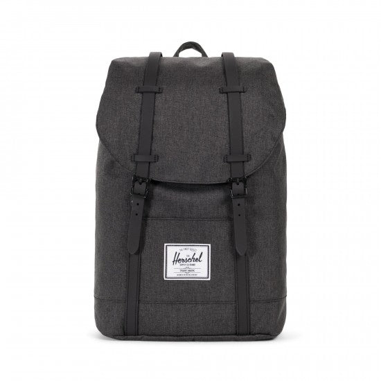 Sac à dos HERSCHEL MID-VOLUME black crosshatch face
