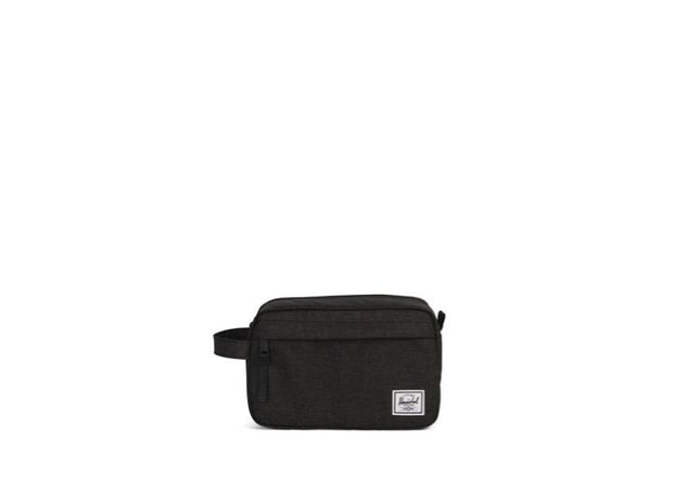 trousse-de-toilette-herschel-chapter blakc crosshatch face