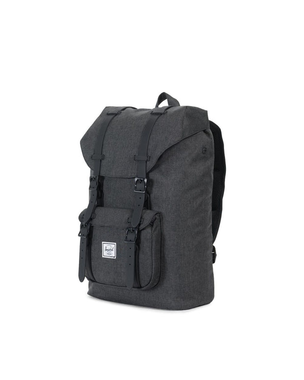 Sac herschel little america black crosshatch COTE
