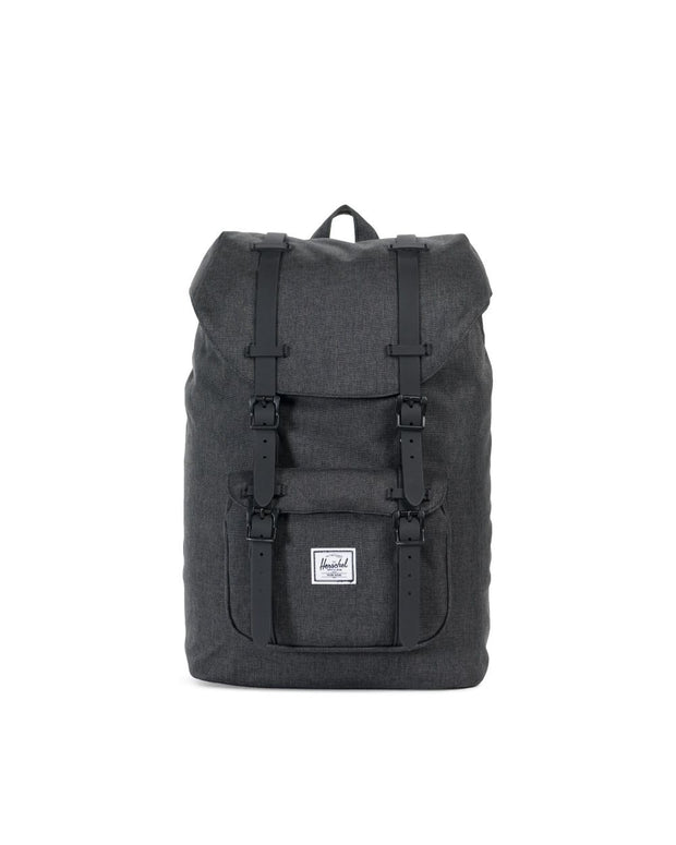 Sac herschel little america black crosshatch face