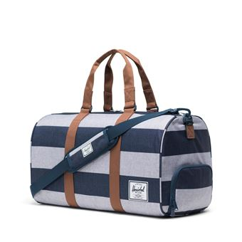 sac de voyage Herschel novel Camel Border Stripe saddle cote