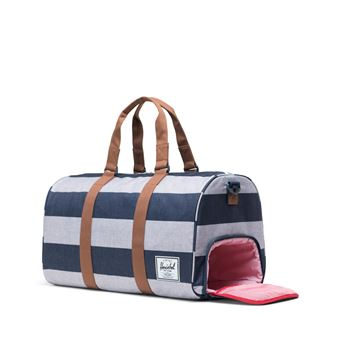 sac de voyage Herschel novel Camel Border Stripe saddle poche chaussures
