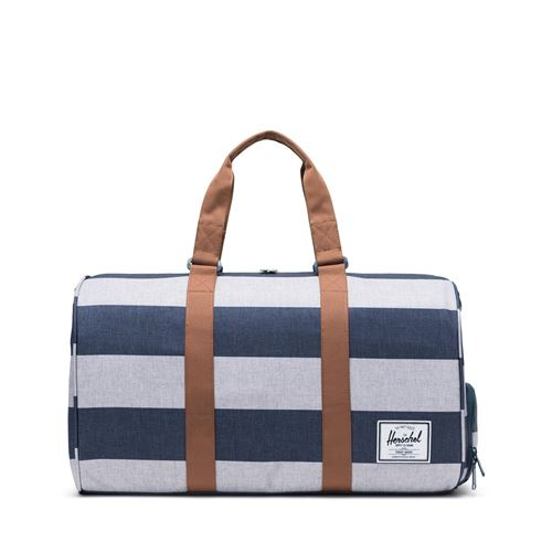 sac de voyage Herschel novel Camel Border Stripe saddle face