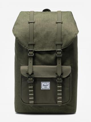 sac a dos hersche little america olive crosshatch face
