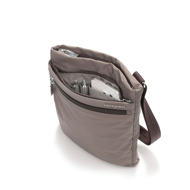Sac porté de travers Hedgren HIC112/003-04-sepia-brown cote