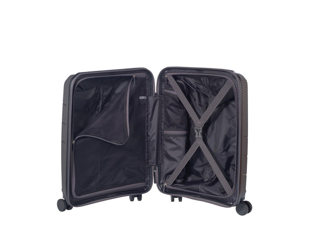 Valise JUMP Cabine IQ20 ANTHRACITE OUVERT