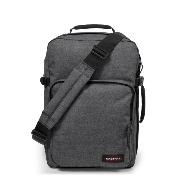 Sac EASTPAK cabine Hatchet black denim EK24C77H face