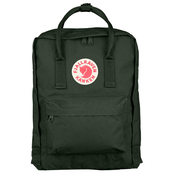 Sac à dos FJALLRAVEN Kanken deep forest face