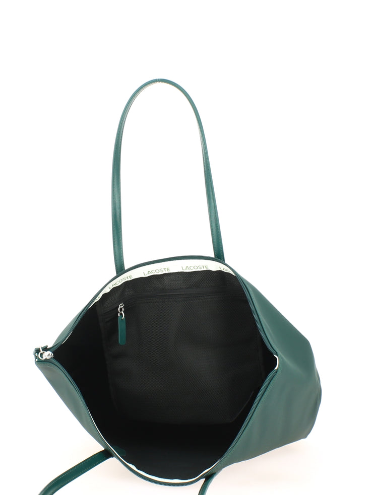 L Shoppping Bag Lacoste color block NF2610CF-B62 ouvert