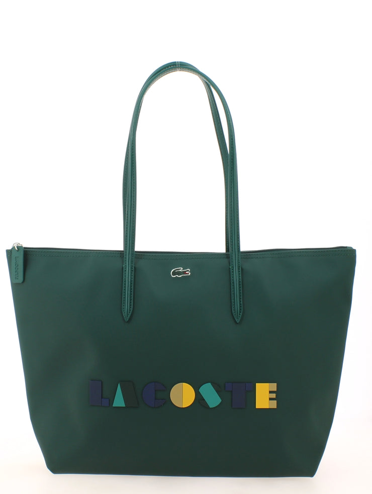 L Shoppping Bag Lacoste color block NF2610CF-B62 face