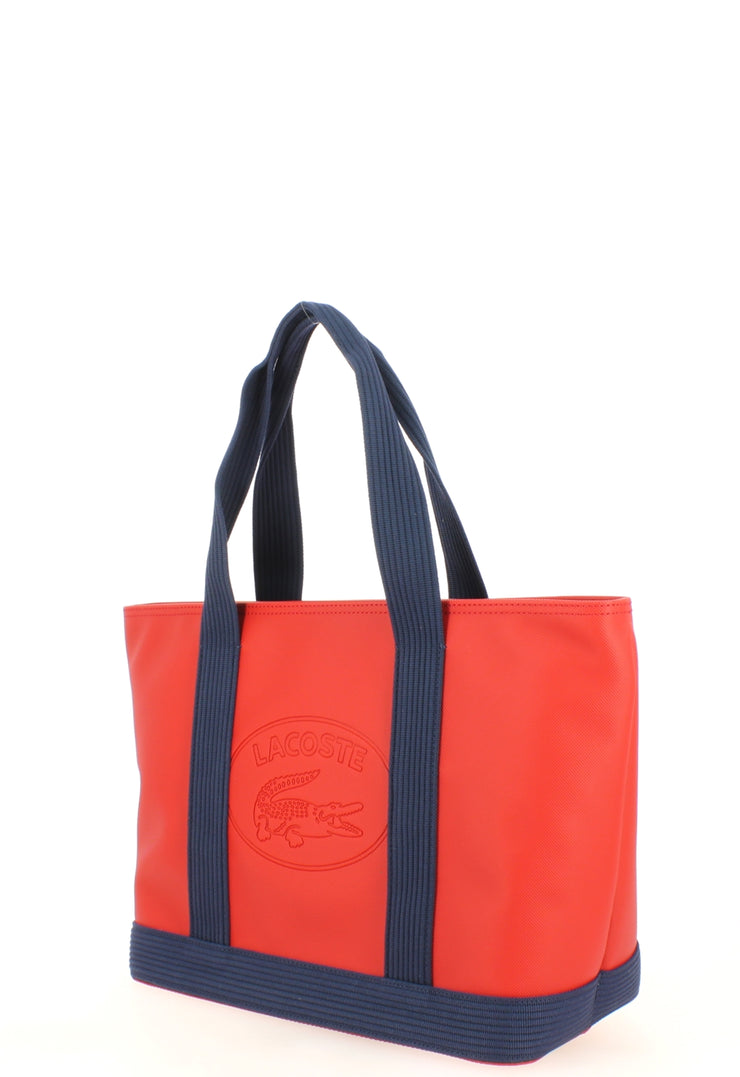 L Shoppping Bag Lacoste NF2416WM-B66 Red Peacoat