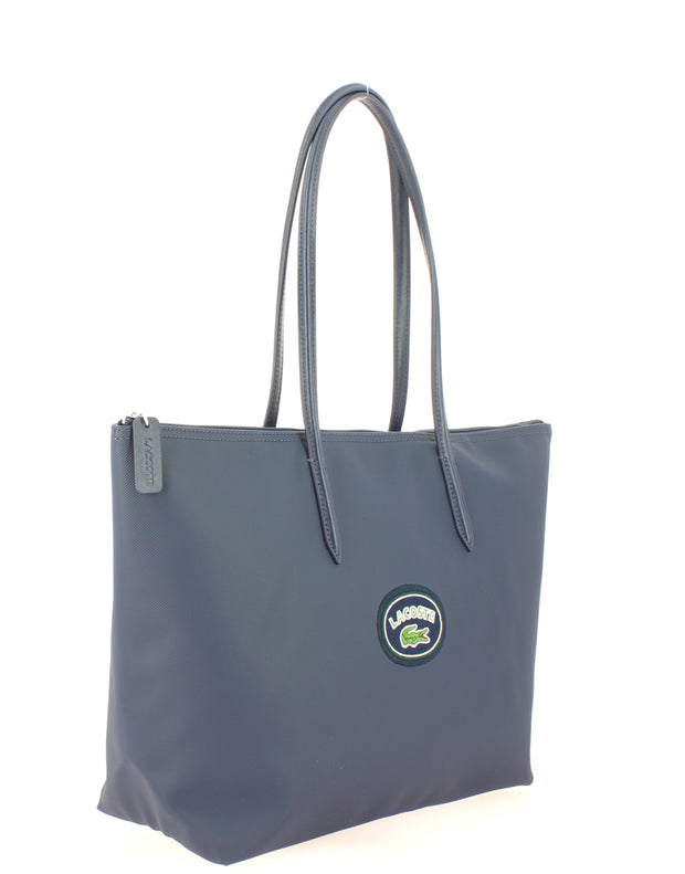 L Shoppping Bag Lacoste NF2614CF-B63 PEACOAT Badge