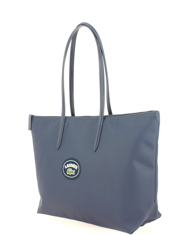 L Shoppping Bag Lacoste NF2614CF-B63 PEACOAT Badge coté