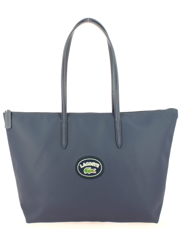 L Shoppping Bag Lacoste NF2614CF-B63 PEACOAT Badge face