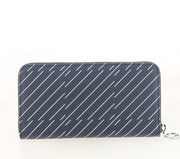 LACOSTE ZIP WALLET CHECK PEACOAT NF2401DT DOS
