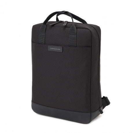 "Sac a dos Malmo ""All Black"" KAPTEN AND SON cote"