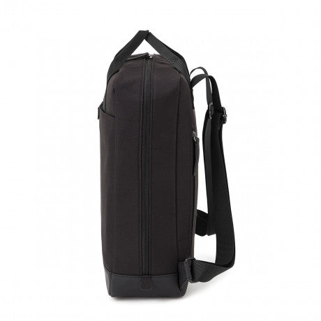 "Sac a dos Malmo ""All Black"" KAPTEN AND SON profil"