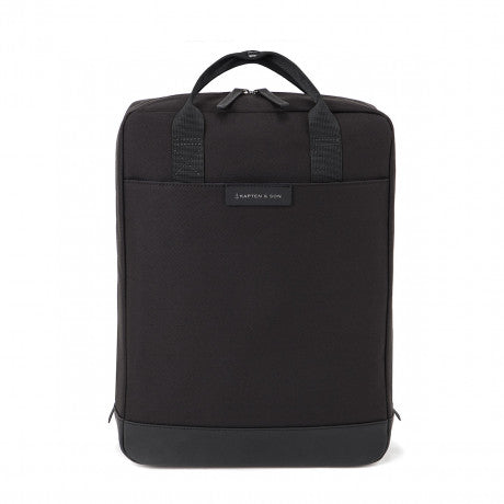 "Sac a dos Malmo ""All Black"" KAPTEN AND SON face"