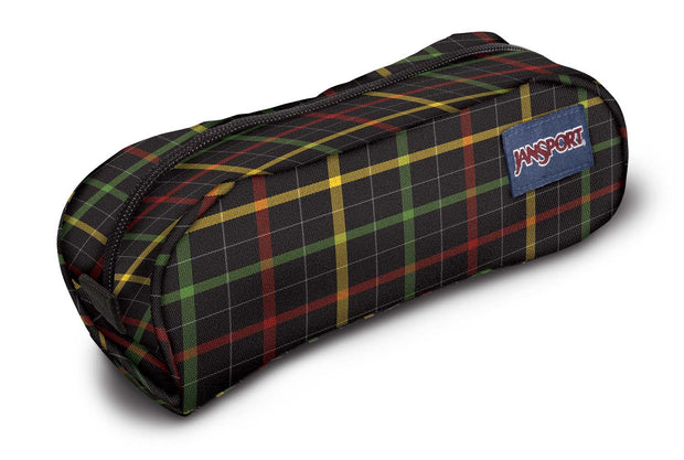 Trousse JANSPORT Pencil Pouch Black Rasta London Plaid