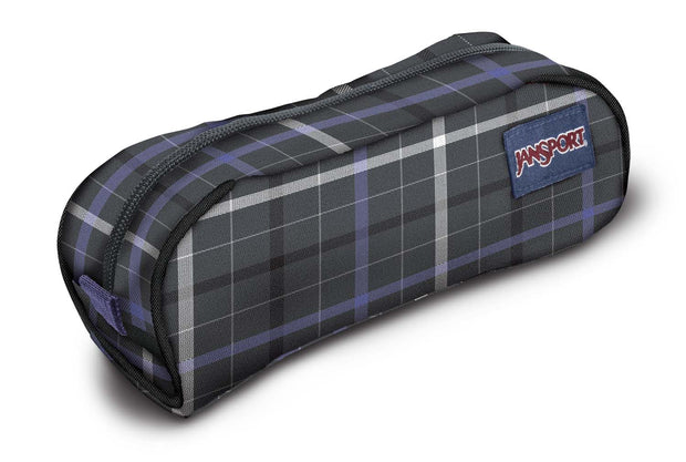 Trousse JANSPORT PENCIL POUCH FORGE GREY LONDON PLAID