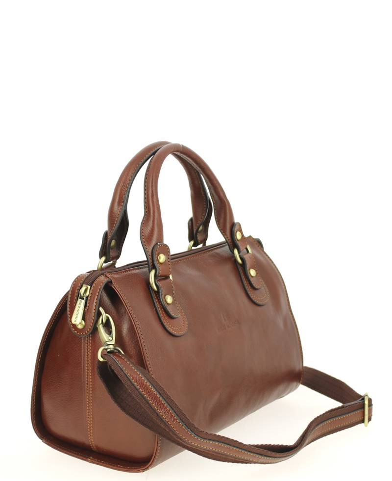 magasin d'usine c73fc 3a3f1 Petit sac à main HEXAGONA Empire Marron