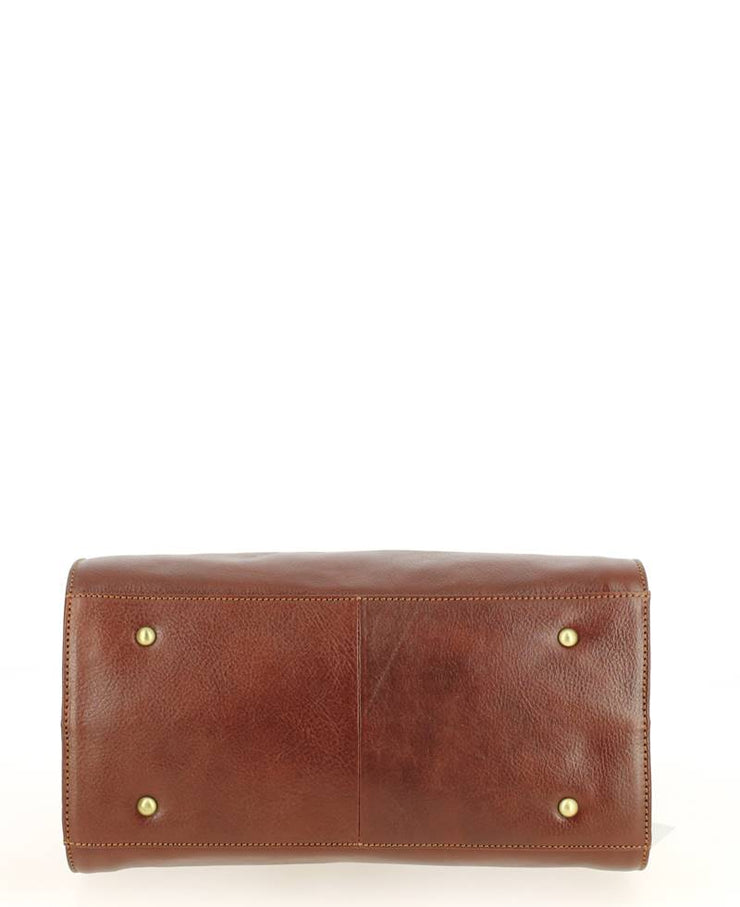 petit-sac-a-main-hexagona-empire-marron-113034-dessous