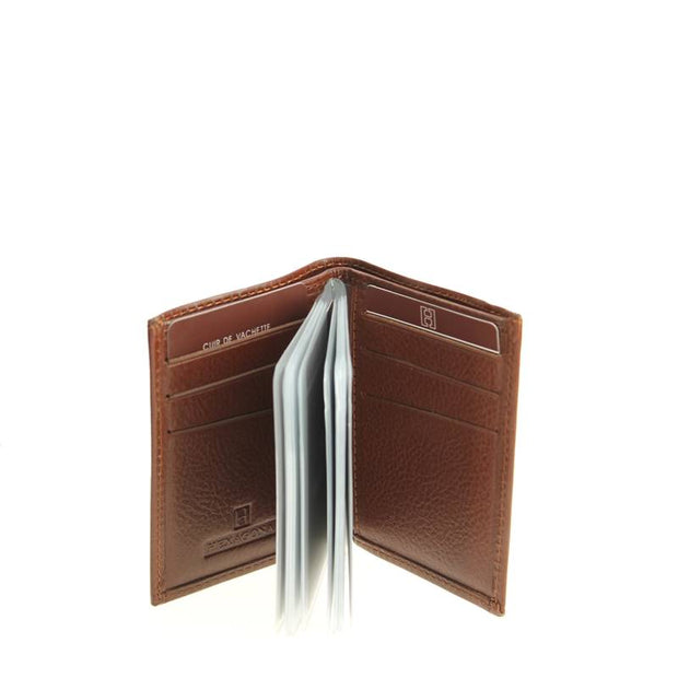 porte-cartes-hexagona-empire-marron-331007-interieur