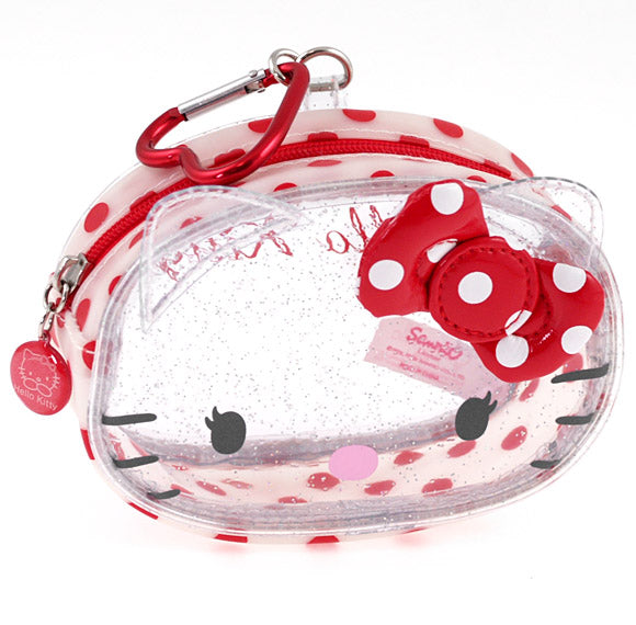 Porte monnaie Hello Kitty COIN PURSE WHITE FACE