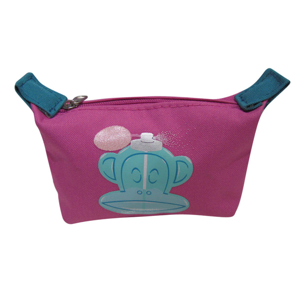 Porte monnaie Paul Frank rose face