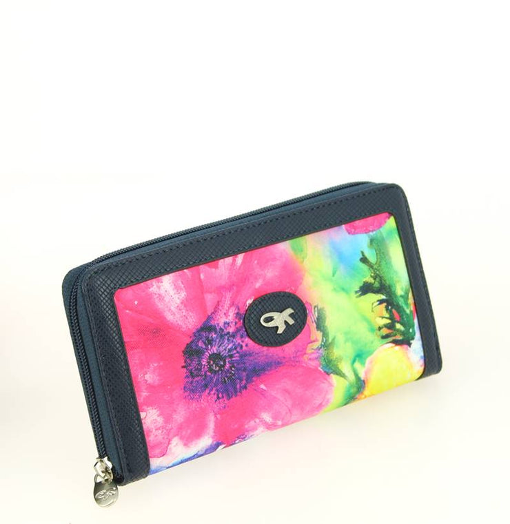 Purse/Wallet GIL HOLSTERS Flowers side