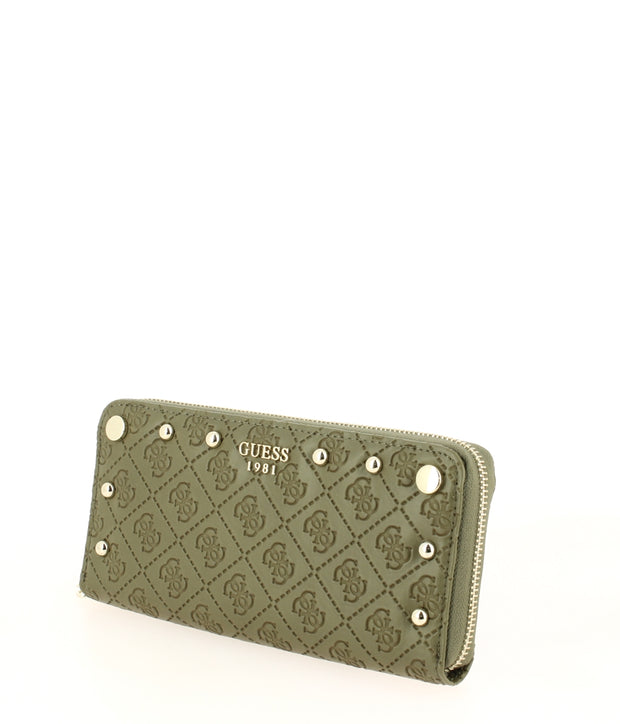 portefeuille GUESS coast to coast SG699346-Olive