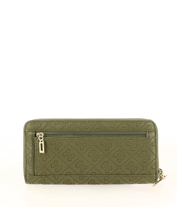 portefeuille GUESS coast to coast SG699346-Olive dos