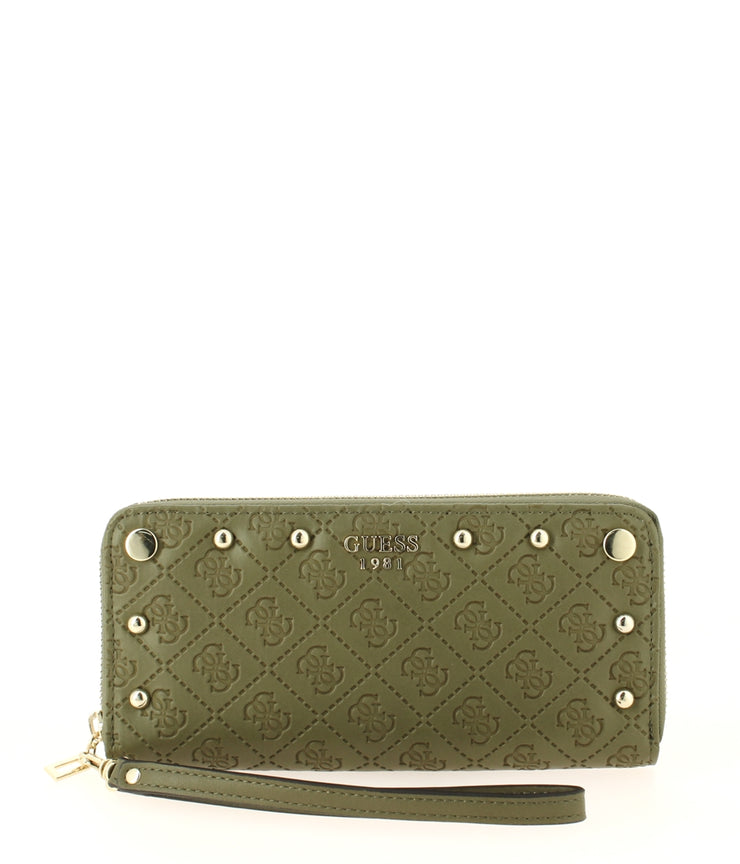 portefeuille GUESS coast to coast SG699346-Olive face