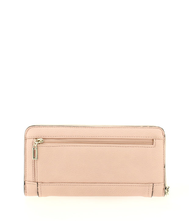 portefeuille GUESS Sally VG670046-blush dos