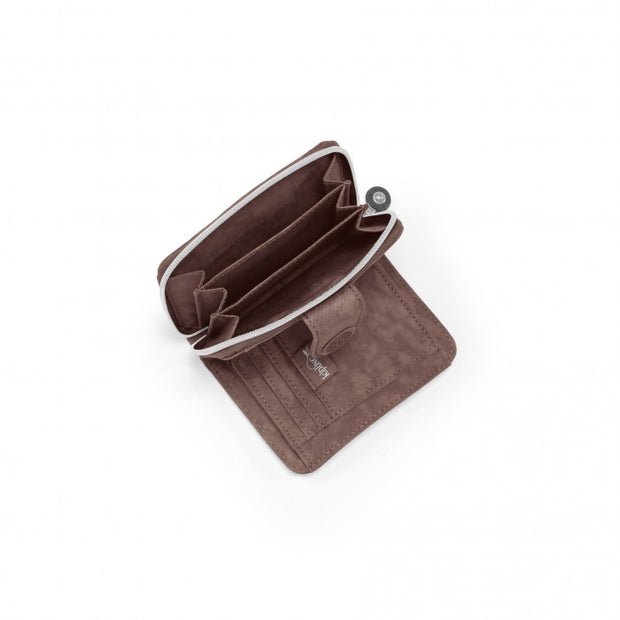 Portefeuille KIPLING New Money Monkey Brown ouvert