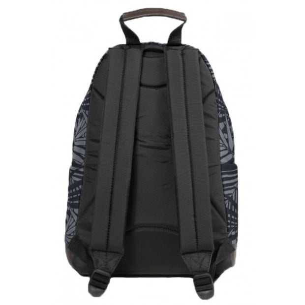 Eastpak wyoming LEAVES BLACK EK81145T dos