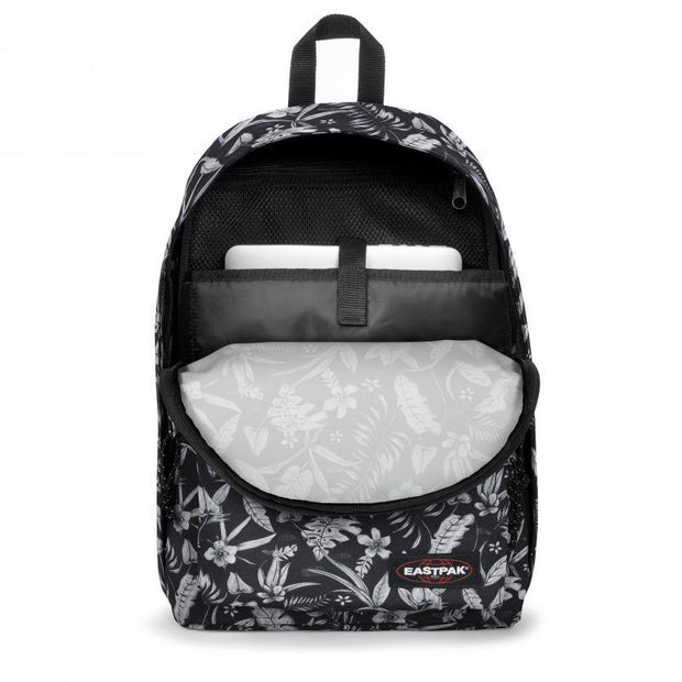 Sac à dos Eastpak Out Of Office Flower Black OUVERT